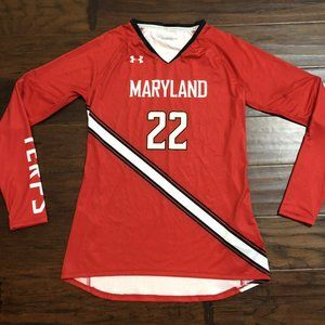 Women's Under Armour Maryland Volleyball Jersey